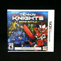 Tenkai Knights: Brave Battle  (Nintendo 3DS, 2014) BRAND NEW
