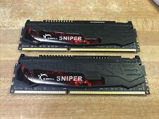 G.SKILL Sniper 2x 4gb DDR3 PC3-14900 F3-14900CL9D-8GBSR