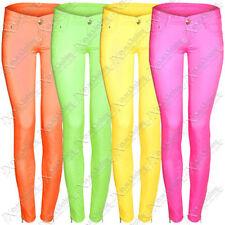 Cotton Coloured Regular L30 Jeans for Women