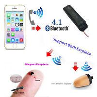 Spy Earpiece Bluetooth Inductive Neckloop Invisivble Covert Earpiece Set
