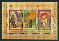 Hungary 2018 MNH Hungarian Blesseds & Saints VI 3v Special M/S Art Stamps