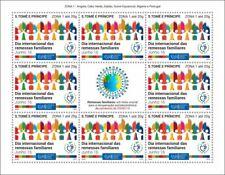 More details for sao tome & principe stamps 2020 mnh family remittances zona 1 upu corona 8v m/s
