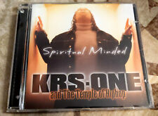 NM Rap/Hip-Hop CD KRS-ONE - Spiritual Minded KOCH RECORDS 2002 Orig