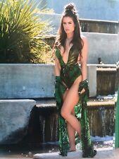 Jungle Goddess Brooke Tessmacher Adams Signed 8x10 WWE TNA IMPACT WRESTLING