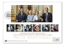 Royal Mail The Queen's 90th Birthday stamps and first day cover