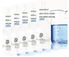 [innisfree] Skin Clinic Mask HYALURONIC ACID 20ml (5pcs)