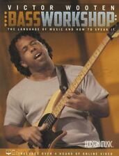 Victor Wooten Bass Workshop Guitar TAB Music Book and Video Method Learn To Play