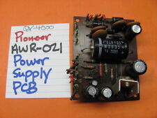 PIONEER AWR-021 POWER SUPPLY PCB QX-4000 QUAD STEREO RECEIVER