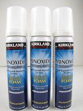 Kirkland Minoxidil 5% FOAM Mens Hair Loss Regrowth Treatment 3 Months Exp 05/18