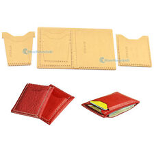 Acrylic Wallet Leather Template Model Handwork Craft Pattern Card Cash DIY WT913