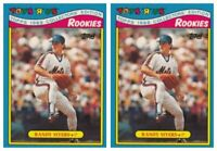 (2) 1988 Topps Toys R' Us Rookies Baseball 21 Randy Myers Lot New York Mets