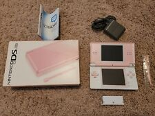 Custom DS LITE pink AND white w/ Original CORAL PINK packaging GENUINE PARTS