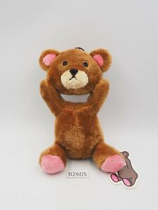 "Control Bear B2605 Brown Strap Mascot Furyu Plush 5"" Toy Doll Japan"