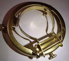 Brass Clamp on Uno Shade Bridge Lamp Holder Down bridge Lamp Part  Free Shiping