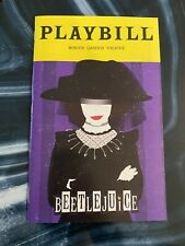 BEETLEJUICE BROADWAY JANUARY 2020 SPECIAL EDITION LYDIA COVER PLAYBILL