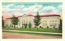 Fine Arts Building, Louisiana State University, Baton, Rouge, Louisiana Postcard