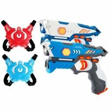 Set 2 Pistole Laser con Bersagli Elettronicin Giocattoli Bambini Laser Gun