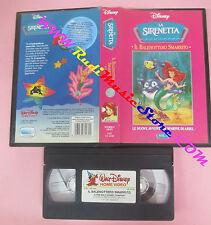 VHS film LA SIRENETTA Il balenottero smarrito Ariel vol.1 DISNEY (F159) no dvd