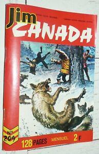 PETIT FORMAT IMPERIA JIM CANADA N°209 1975 SERGENT POLICE MONTEE TUNIQUES ROUGES