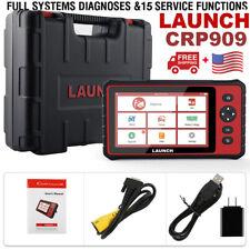 Launch x431 CRP909 OBD2 WiFi Automotive Full System DPF OIL TPMS EPB Reset Tool