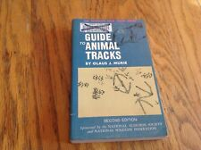 A Field Guide to Animal Tracks by Olaus Murie - 1st Printing, 2nd Edition - 1975