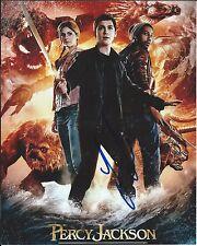 Logan Lerman Percy Jackson Actor Hand Signed 8x10 Autographed Photo W/COA