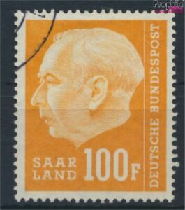 Saar 426 fine used / cancelled 1957 Heuss II (9487103