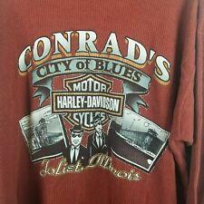 Harley-Davidson mens XL long sleeve City of Blues shirt