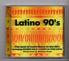 (JO186) Bomba Rosa, Latino 90s, 18 tracks - 1999 CD