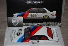 BMW M3 E30 ravaglia Pirro Calder #46 Minichamps TOP!! 1/18 SEE INFO