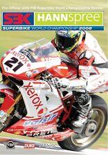 WORLD SUPERBIKE 2008 DVD. 2 Discs. TROY BAYLISS etc. 434 Mins. DUKE 1840NV