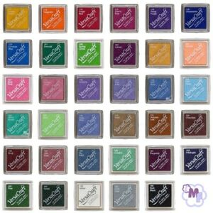 VersaCraft - Inkpad Small -  35 versch. Farben zur Auswahl - ideal für Stoffe