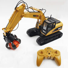 HUINA TOYS 1571 1:14 2.4GHz 16CH RC Alloy Excavator RTR Mechanical Sound