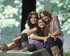 Demi Lovato Selena Gomez and Miley Cyrus 8x10 photo 1