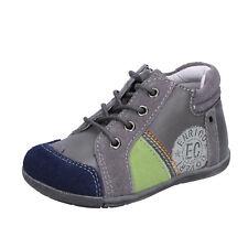 scarpe bambino ENRICO COVERI 23 EU sneakers grigio camoscio pelle BX827-23