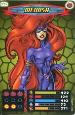 Spiderman Heroes And Villains Card #094 Medusa