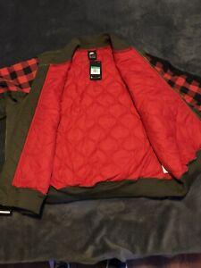 New Nike Vintage Bomber Jacket
