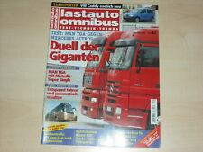 59667) MAN TGA vs Mercedes Actros - Volvo 9900 Lastauto Omnibus 12/2003