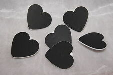 Tischkarten Platzkarten Namenskärtchen Holz mit Klammer Herz weiß