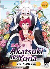 DVD Anime Akatsuki No Yona / Of The Dawn Complete Series (1-26) English Subtitle