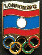 2012 LONDON Olympic LAOS NOC Internal team - delegation dated rare scarce pin