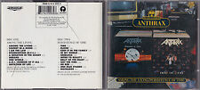 CD 20T ANTHRAX AMONG THE LIVING / PERSISTENCE OF TIME DE 1992