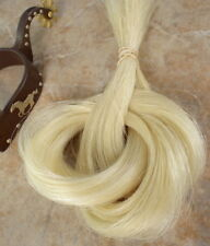 1 oz BULK*REAL horse hair creamy white * great CRAFTS/JEWELRY/ tail extensions