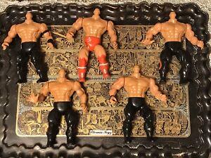 { AWA REMCO WRESTLERS PARTS LOT } Wrestling MOTU KO Vintage Action Figure