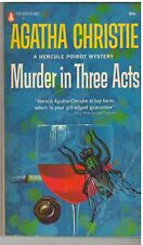 MURDER IN 3 ACTS Agatha Christie (Popular Library)