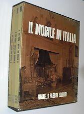 IL MOBILE IN ITALIA cofenetto 3 volumi FABBRI ( 1969 ) spedizione gratis