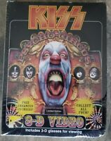 KISS Psycho-Circus 3-D Video, Peter Criss Limited Edition 1998 SEALED