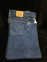 VTG Levi's 550 Blue Denim MOM Jeans Sz 8 M MIS Relaxed Fit Tapered Leg High Wais