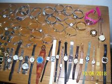 BIG LOT OF ASSORTED MENS & LADIES WRISTWATCHES BATTERIES NEEDED / PARTS, WATCHES