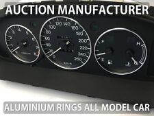 Mazda Xedos 6 9 1992-2002 Polished Aluminium Gauge Rings Chrome Trim Surrounds